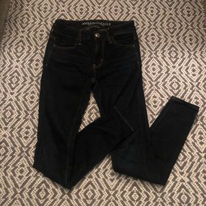 Denim - Dark wash denim, size 0 short from American Eagle